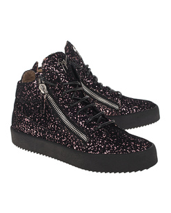 GIUSEPPE ZANOTTI May London Ghost Black Pink