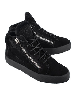 GIUSEPPE ZANOTTI May London Velour Black