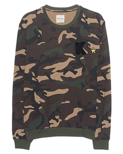 KENGSTAR Sweatshirt Military Panda Camouflage