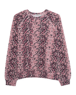 RAGDOLL L.A. Oversized Sweatshirt Python Rose