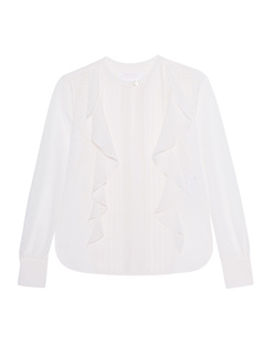 SEE BY CHLOÉ Lace Cloud White