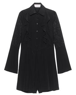 SEE BY CHLOÉ Lace Ruffles Short Black