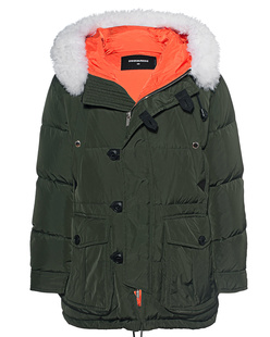 DSQUARED2 Hooded Outdoor Green