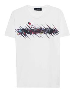 DSQUARED2 Print Art Shirt White