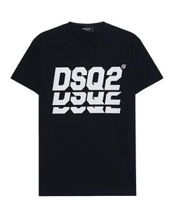"DSQUARED2 DSQ"" Print Black"
