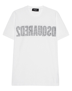DSQUARED2 Reverse Logo White