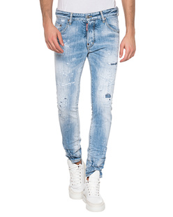 DSQUARED2 Destroyed Skater Light Blue