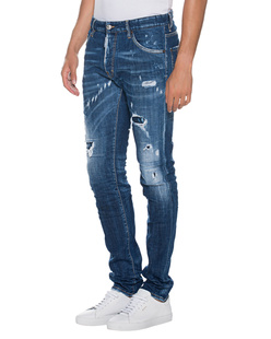 DSQUARED2 Cool Guy Destroyed Blue