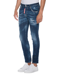 DSQUARED2 Skater Jean Paint Blue