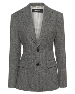 DSQUARED2 Waisted Wool Black Grey