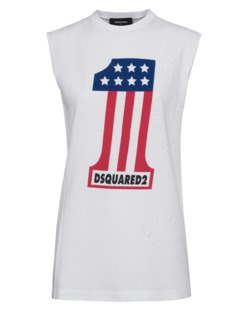 DSQUARED2 Usa One White