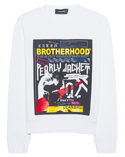 DSQUARED2 Brotherhood White