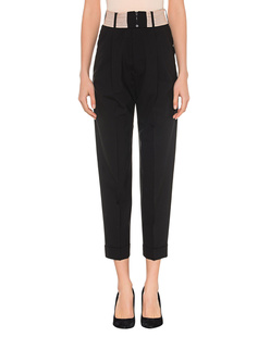 DSQUARED2 High Waist Stretch Wool Black