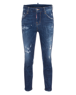 DSQUARED2 Cool Girl Cropped Bottom Blue
