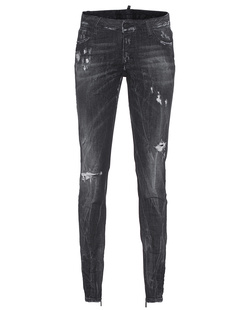 DSQUARED2 Medium Waist Skinny Jeans