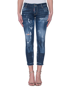 DSQUARED2 Medium Waist Skinny Cropped Jean