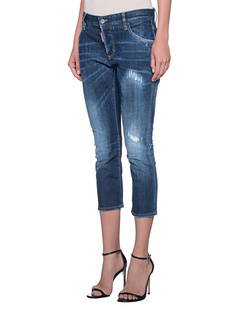 DSQUARED2 Slouchy Cropped Blue