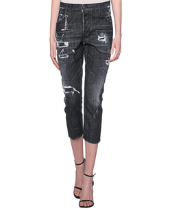 DSQUARED2 Slouchy Cropped Black