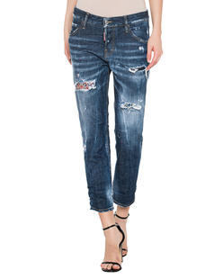 DSQUARED2 Coolgirl cropped Blue