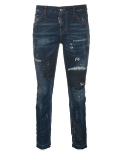 DSQUARED2 Cool Girl Splashes Paint Blue