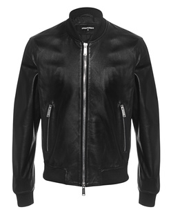 DSQUARED2 Leather Basic Black
