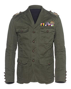 DSQUARED2 Military Jacket Olive