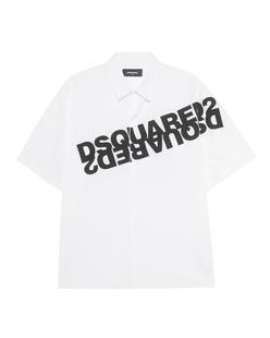 DSQUARED2 Logo Print White