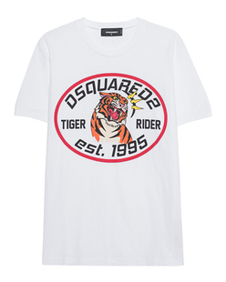 DSQUARED2 Tiger White