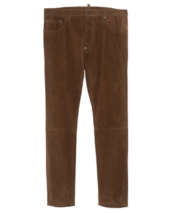 DSQUARED2 Suede Straight Brown