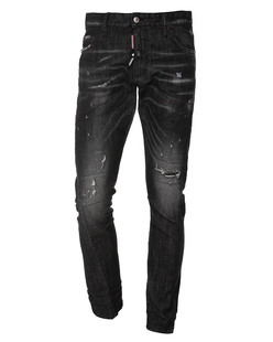 DSQUARED2 Sexy Twist Jean Black