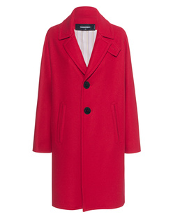 DSQUARED2 Chic Wool Bogart Red