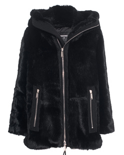 DSQUARED2 Fake Fur Black