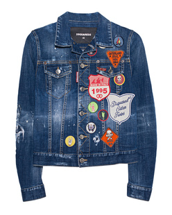 DSQUARED2 Denim Patches Blue