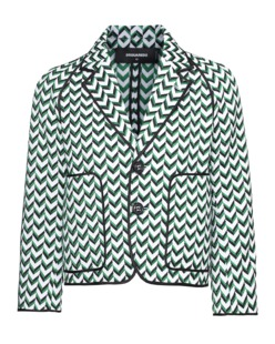 DSQUARED2 Patch Front Arrow Green