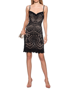 DSQUARED2 Lace Dress Black