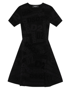 DSQUARED2 Flared Logo Black