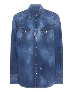 DSQUARED2 Jeans Shirt Destroy Blue