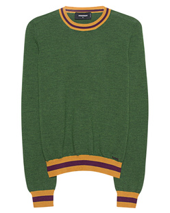 DSQUARED2 Fine Knit Wool Green