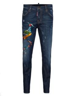 DSQUARED2 Cool Girl Long Crotch Phoenix Blue
