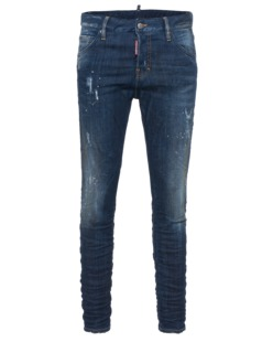 DSQUARED2 Long Crotch Dirt Used Blue