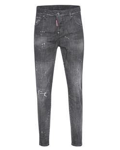 DSQUARED2 Cool Girl Long Crotch Bottom Black