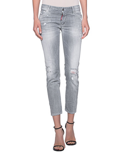 DSQUARED2 Super Skinny Crop Grey