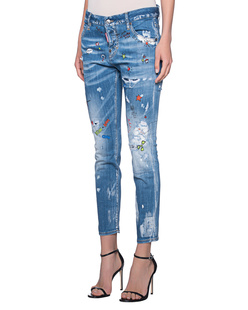 DSQUARED2 Cool Girl Print Light Blue