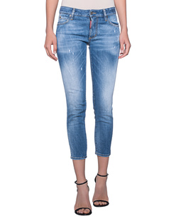 DSQUARED2 Twiggi Crop Blue