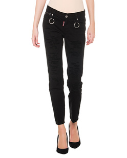 DSQUARED2 Runway Cropped Black