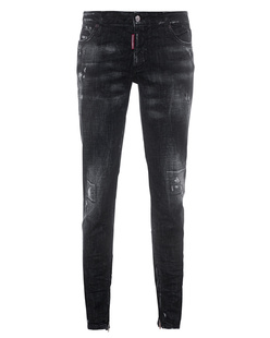 DSQUARED2 Medium Waist Skinny Black