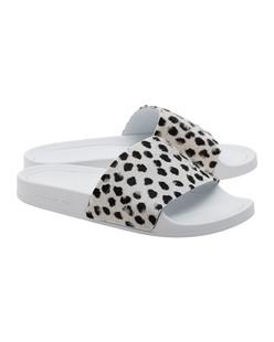 ADIDAS ORIGINALS Adilette Premium Black White