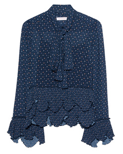 SEE BY CHLOÉ Ruffles and Bow Dark Navy