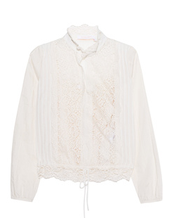 SEE BY CHLOÉ Haut Shirt Off White