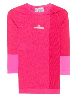 ADIDAS BY STELLA MCCARTNEY Yoga Seamless Top Shock Pink/Ruby Red